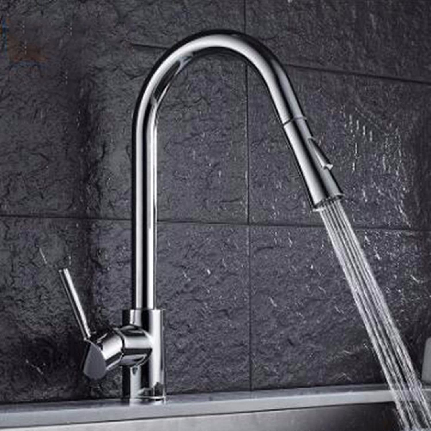 MulFaucet European Style Pull Faucet redating Kitchen Faucet Sink Sink hot and Cold Faucet