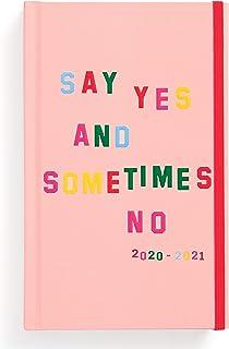 Ban.do 17 شهر 2020-2021 مخطط يومي كلاسيكي مع مناظر أسبوعية وشهرية، بتاريخ أغسطس 2020 - ديسمبر 2021، غلاف متين للعناية الذا...