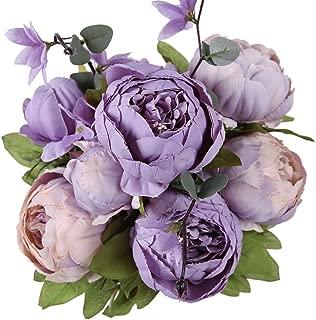 Best artificial flowers purple Reviews