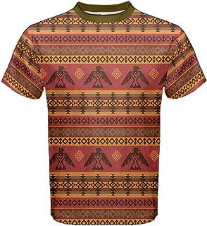 Mens Sports Shirts Eagles Tribal Native American Men's Sport Mesh Tee, XS-5XL