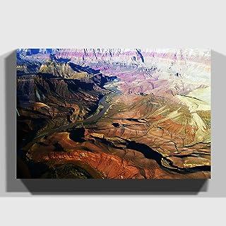 "Arty Pie""The Grand Canyon 6"" Canvas Print, Multi-Colour, 30 x 20-Inch/76 x 50 cm"