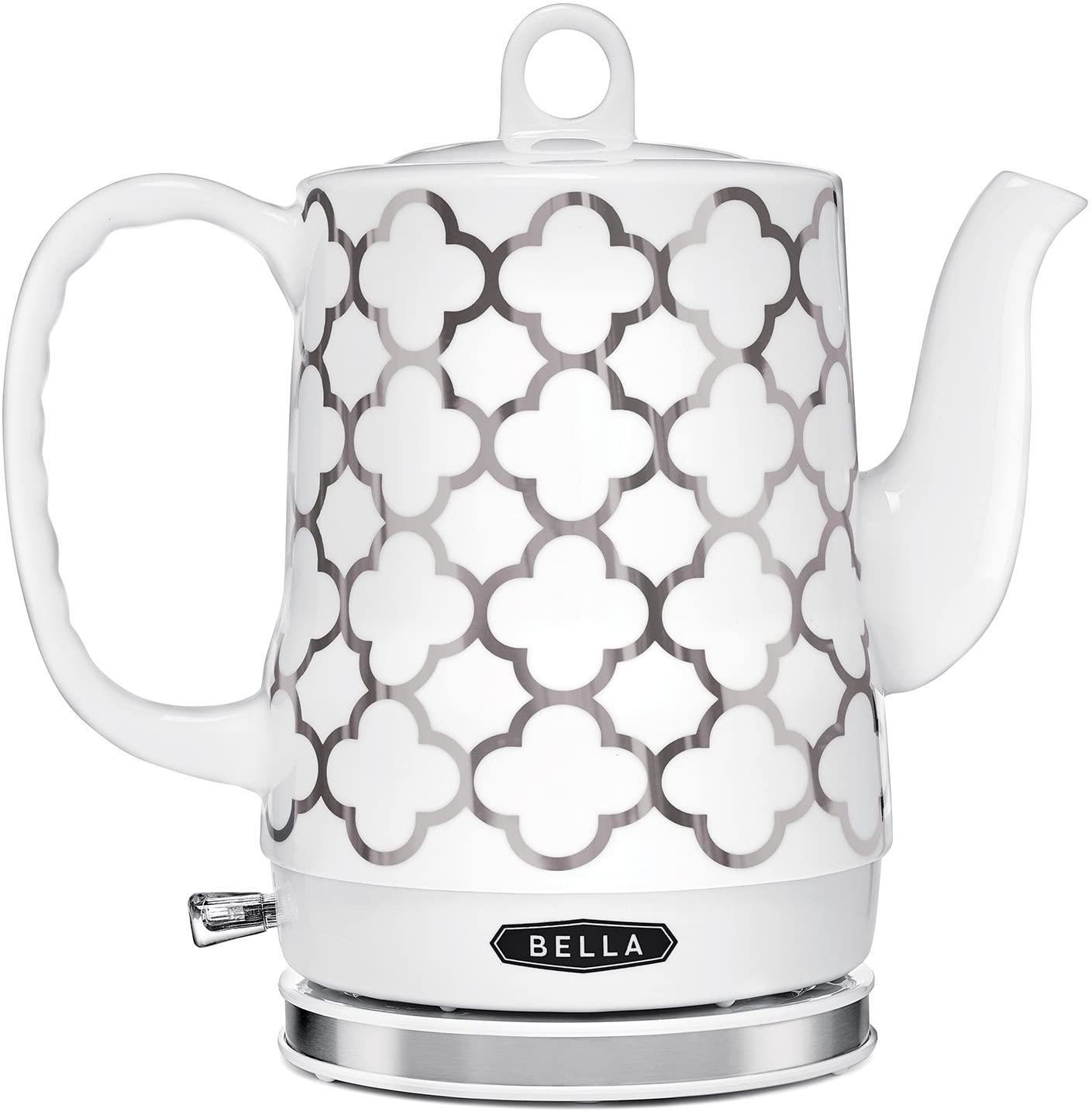 BELLA Electric Ceramic Tea Max 47% OFF Kettle Water and Easily Boil Quickly 5 ☆ very popular
