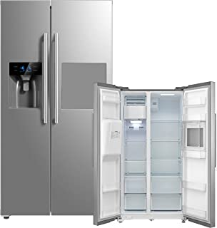 Kühl-/Gefrierkombination SidebySide Midea MDRS678FGF02 Wasser-/Eisspender