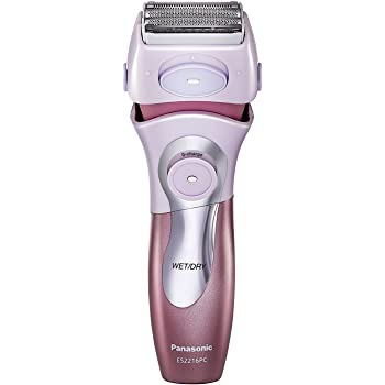 Panasonic Cordless All-in-One Advanced Wet & Dry Rechargeable Womens Electric Shaver For Sensitive Skin With Bikini Attachment and Pop-Up Trimmer