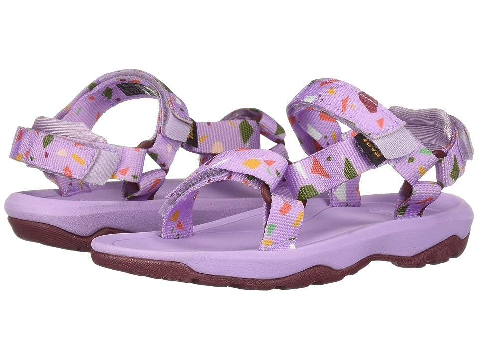 Teva Kids Hurricane XLT 2 Print (Toddler) (Terrazo Print Orchid) Girls Shoes
