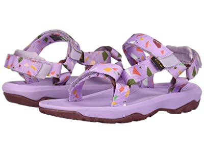 Teva Kids Hurricane XLT 2 Print (Toddler) (Terrazo Print Orchid) Girls Shoes