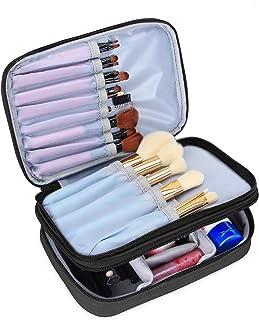 Pinceau De Maquillage Porte-Voyage Ongles Cosm/étiques Polonais Bo/îte Pen Holder 3 Treillis Pinceau De Maquillage Coffret De Rangement Table Cosm/étique Outil