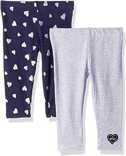 DKNY Baby Girls 2 Pack Printed Stars Legging Set