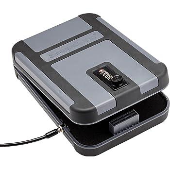 SnapSafe Treklite Gun Safe Lock Box with TSA Combination Lock