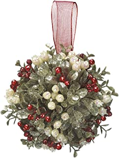 christmas holly mistletoe