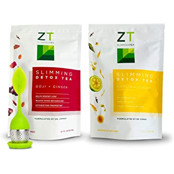 Dr Zisman Bundle ZT Slimming Weight Loss Teas (Goji-Ginger Detox and Garcinia Dreams)