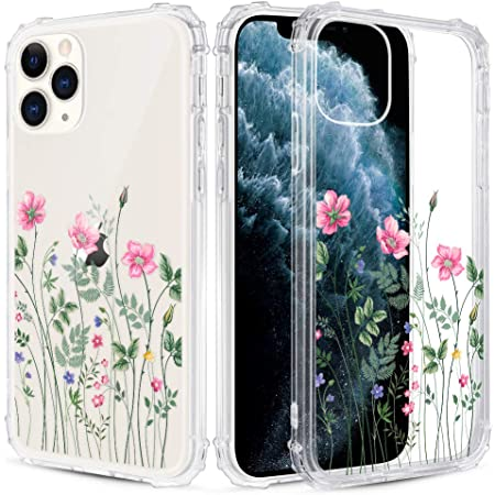 Caka Clear Case Für Iphone 11 Pro Max Blume Clear Case Elektronik