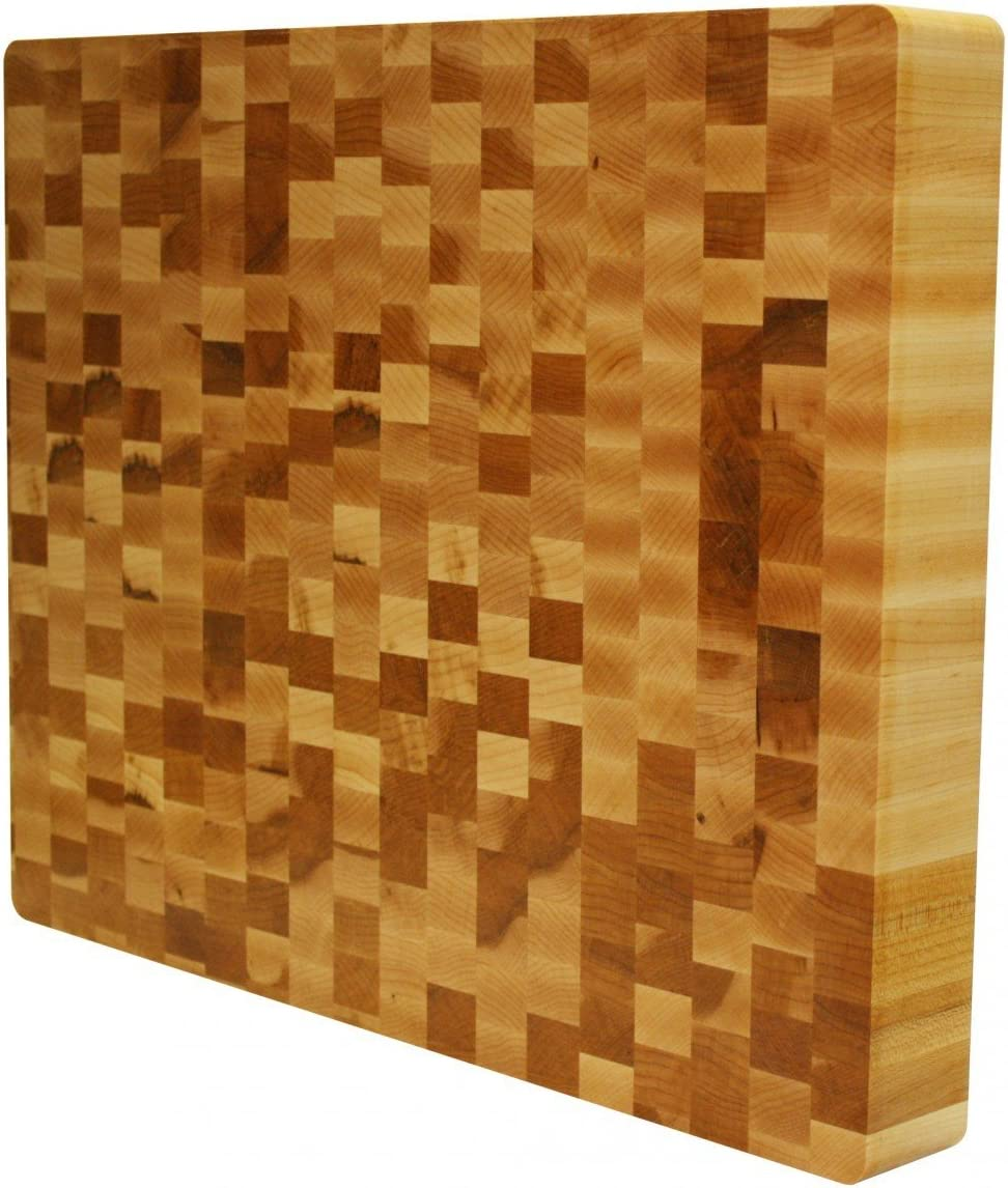 Kobi Blocks Maple End Grain Free shipping anywhere in the nation Butcher Cutting Wood Block 14
