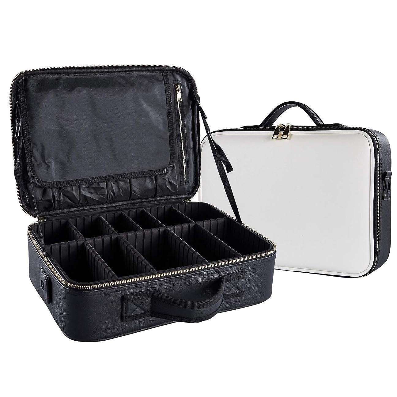 威するトラックバドミントンArcEnCiel メイクボックス プロ用 化粧道具 コスメ収納 化粧箱 收納抜群 大容量 メイクアップ ボックス