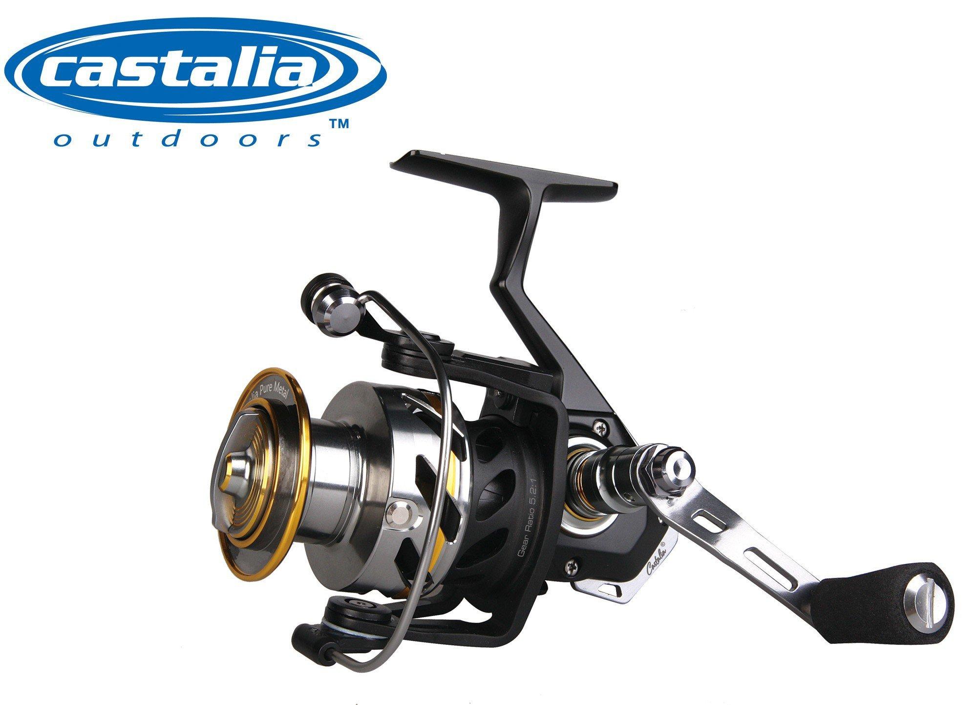 Castalia Pure metal 4000 FD – Carrete fijo para pesca a Spinning ...