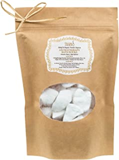 Decadent Vanilla Aromatherapy Bath Rocks for Women: Enriched with Argan Oil, Olive Oil, Coca Butter, Shea Butter, and Vitamin E