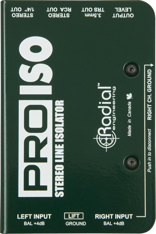 San Antonio Mall Radial Engineering PRO ISO Stereo Line wi -10dB Isolator Fort Worth Mall +4dB to