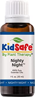 Plant Therapy Essential Oils Nighty Night Synergy Sleep Blend 100% Pure, KidSafe, Undiluted, Natural Aromatherapy, Therapeutic Grade 30 mL (1 oz)