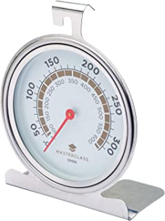 censhaorrme Acero Inoxidable Horno Horno Term/ómetro Medidor de Temperatura del term/ómetro Mini Grill Medidor de Temperatura para el hogar de la Cocina de