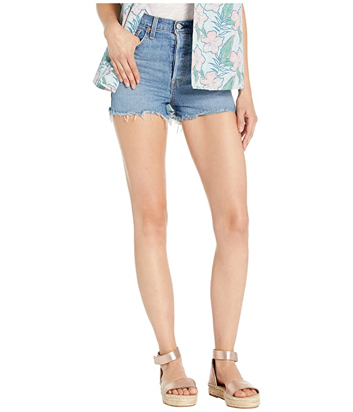 Levis Premium  Ribcage Shorts (Worn in Indigo) Womens Shorts