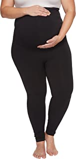 SPANX Women's Plus Size Mama Look at Me Now Seamless Leggings