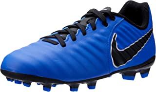 Nike Australia Boys Jr Legend 7 Academy FG Fashion Shoes, Racer Blue/Black-Metallic Silver