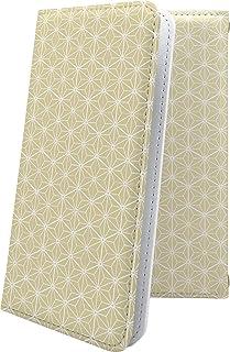 TCL 10 Lite ケース 手帳型 和柄 和風 日本 japan 和 麻の葉 ティーシーエル デザイン イラスト tcl10lite 模様 11574-5jisdg-10001689-tcl10lite