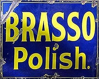 vintage brasso tin
