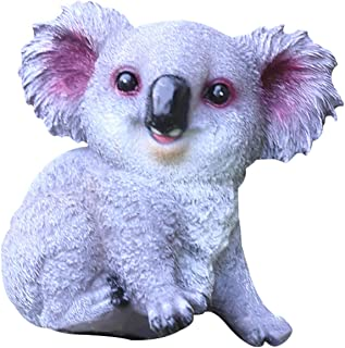 Cute Koala Statue Ornaments Creative Resin Desktop Decoration Garden Clever Funny Decoration Animal Ornaments Home Accesso...