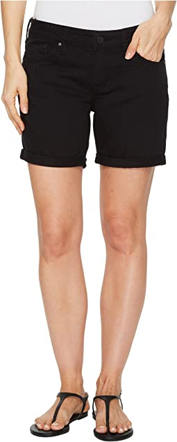 Pixie Boyfriend Shorts in Black Nolita