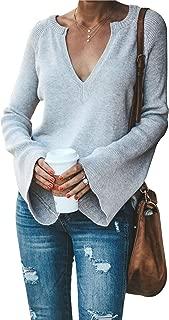 SALENT Women's Snap Button Down Open Front Lightweight Knitwears Casual Cardigans Sweater