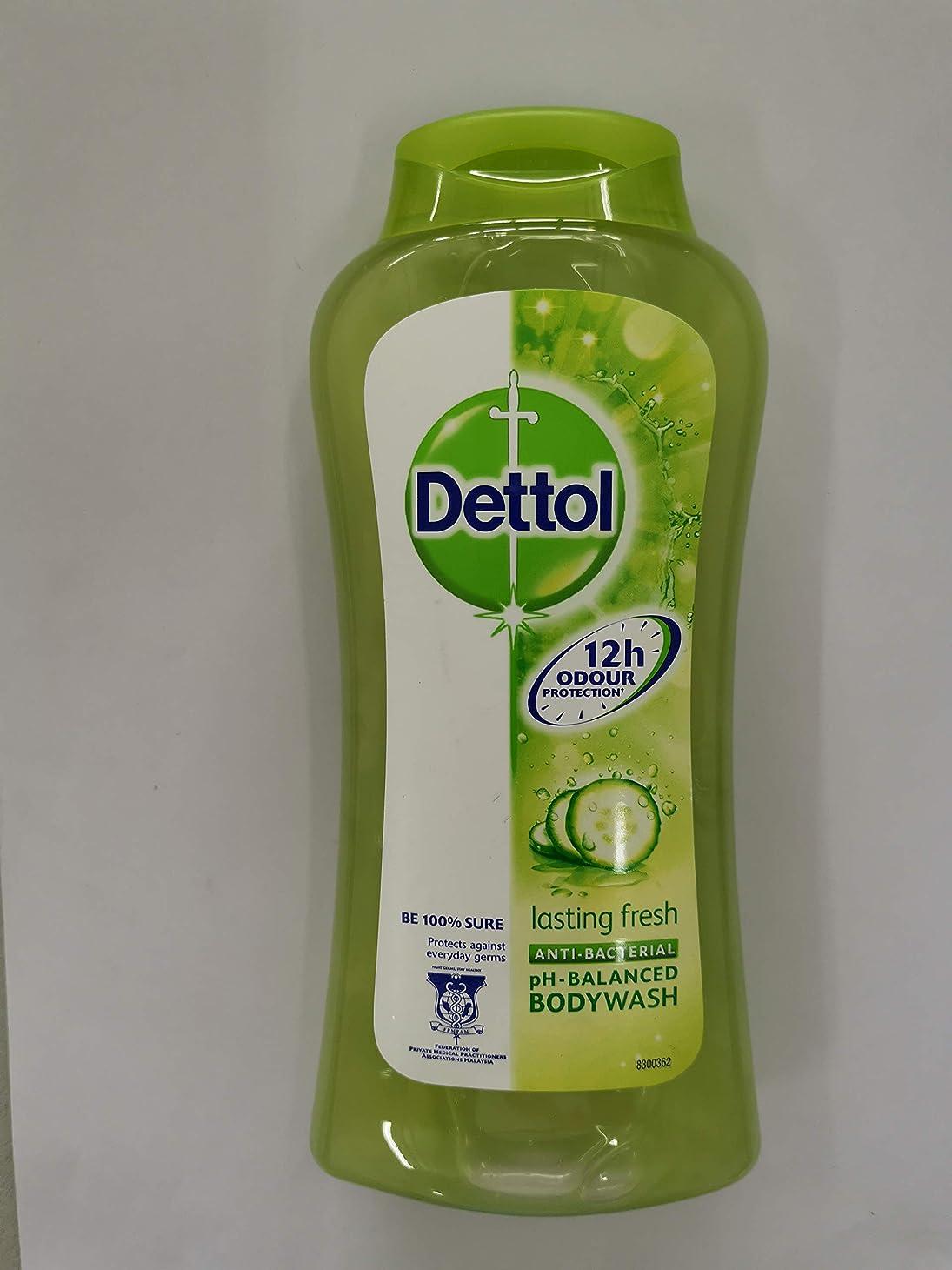 性交除去定期的Dettol pHバランス式を進めた250ml-フレッシュシャワージェルラスティング - 大規模な目に見えない細菌を防ぐ - 提供、新鮮で健康的なだけでシャワーを浴びて気持ちを継続しました