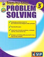 خطوة بخطوة وحل المشكلة ، درجة 5(سنغافورة Math)