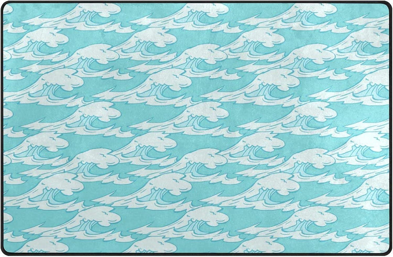 FAJRO Royal Geometry Shape Colletion Pattern Polyester Entry Way Doormat Floor Mats Area Rug Multipattern Door Mat shoes Scraper Home Dec Anti-Slip Indoor Outdoor