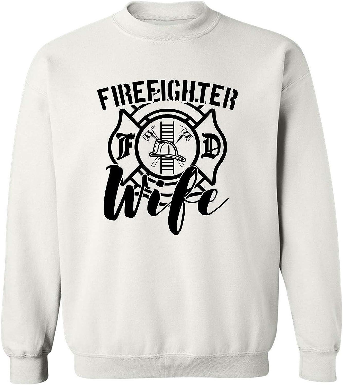 FIREFIGHTER WIFE Crewneck Sweatshirt