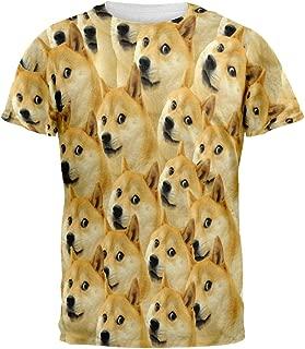 Animal World Doge Meme All Over Adult T-Shirt
