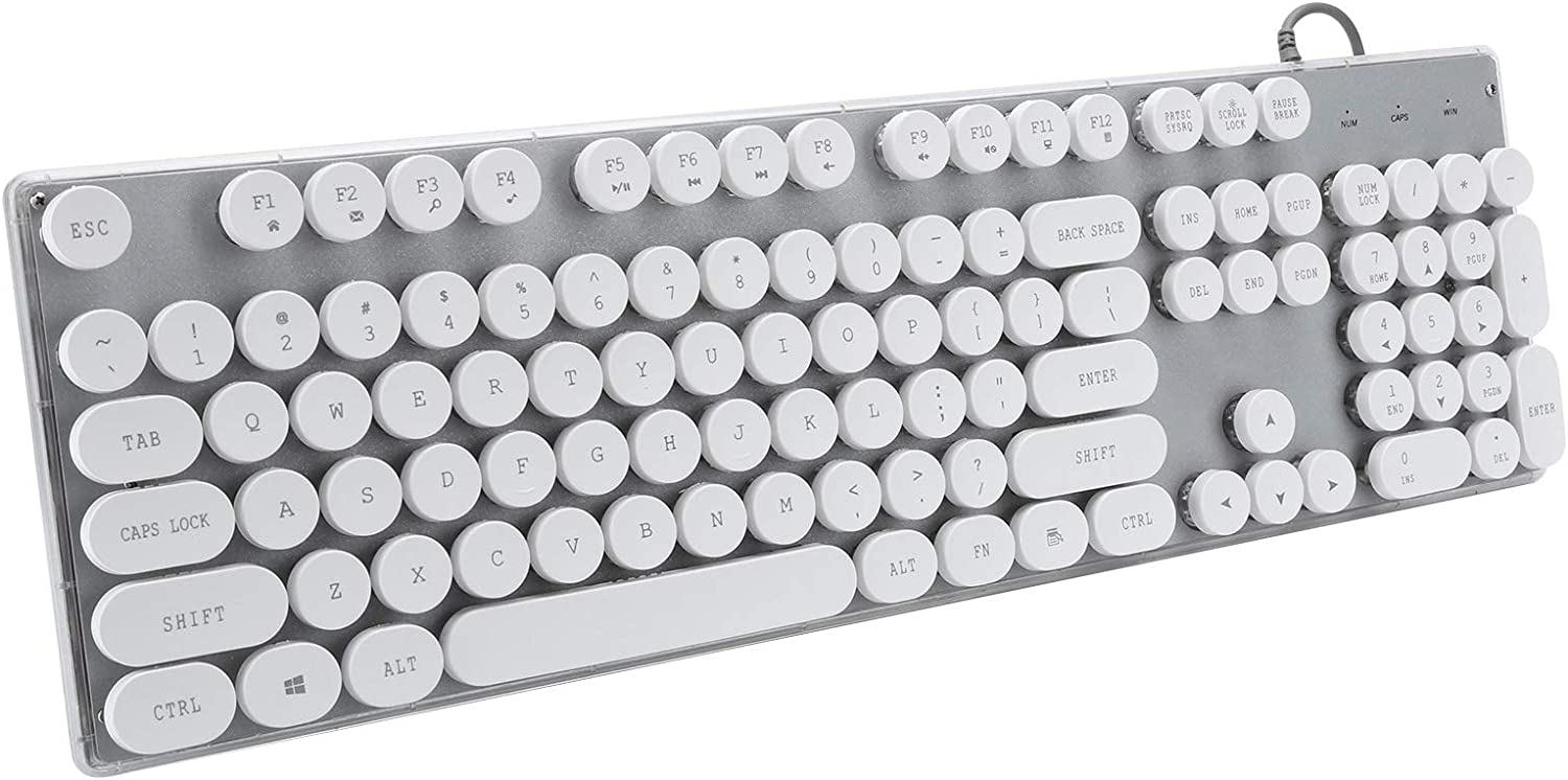 Gaming Keyboard Steampunk Wired Our shop OFFers the best service store Keycap USB