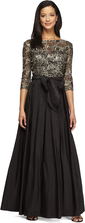Alex Evenings Womens Ball Gown Long Party Dress Dress