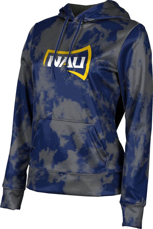 Northern Arizona University Girls' Pullover Hoodie, School Spirit Sweatshirt (Grunge)