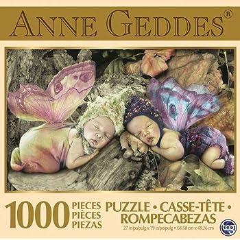 Anne Geddes 1000 Piece Puzzle Fairy Babies
