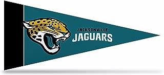Rico Industries NFL Jacksonville Jaguars 8-Piece 4-Inch by 9-Inch Classic Mini Pennant Décor Set