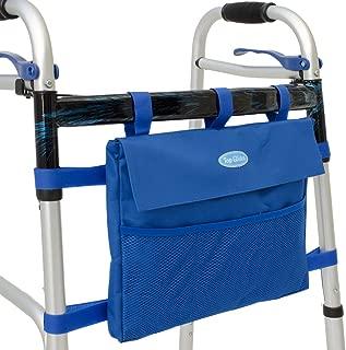 Top Glides Universal 6-Pocket Walker Bag/Tote/Pouch - Dark Blue