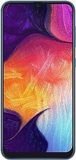 Samsung Galaxy A50 A505G 64GB Duos GSM Unlocked Phone w/Triple 25MP Camera - (International Version, No Warranty) - Blue