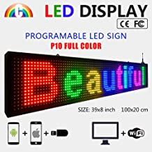 outdoor led message board signs