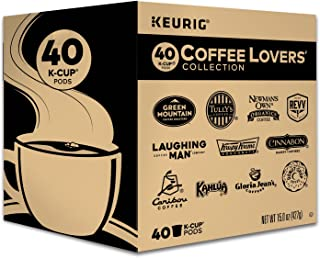 Keurig Coffee Lovers' Collection Sampler Pack, Single-Serve K-Cup Pods, Variety..