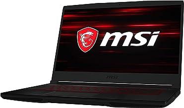 "msi Laptop Gaming GF63 Thin 9SCSR-094MX 15.6"" FHD, IPS 120Hz, NVIDIA GEFORCE GTX1650 TI MAX-Q 4GB, Intel Core I7-9750H, RA..."