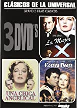 Universal Classics 3 DVD Pack - Madame X (La Mujer X), The Good Fairy (Una Chica Angelical), The Black Shield of Falworth (Coraza Negra) Spanish import, plays in English