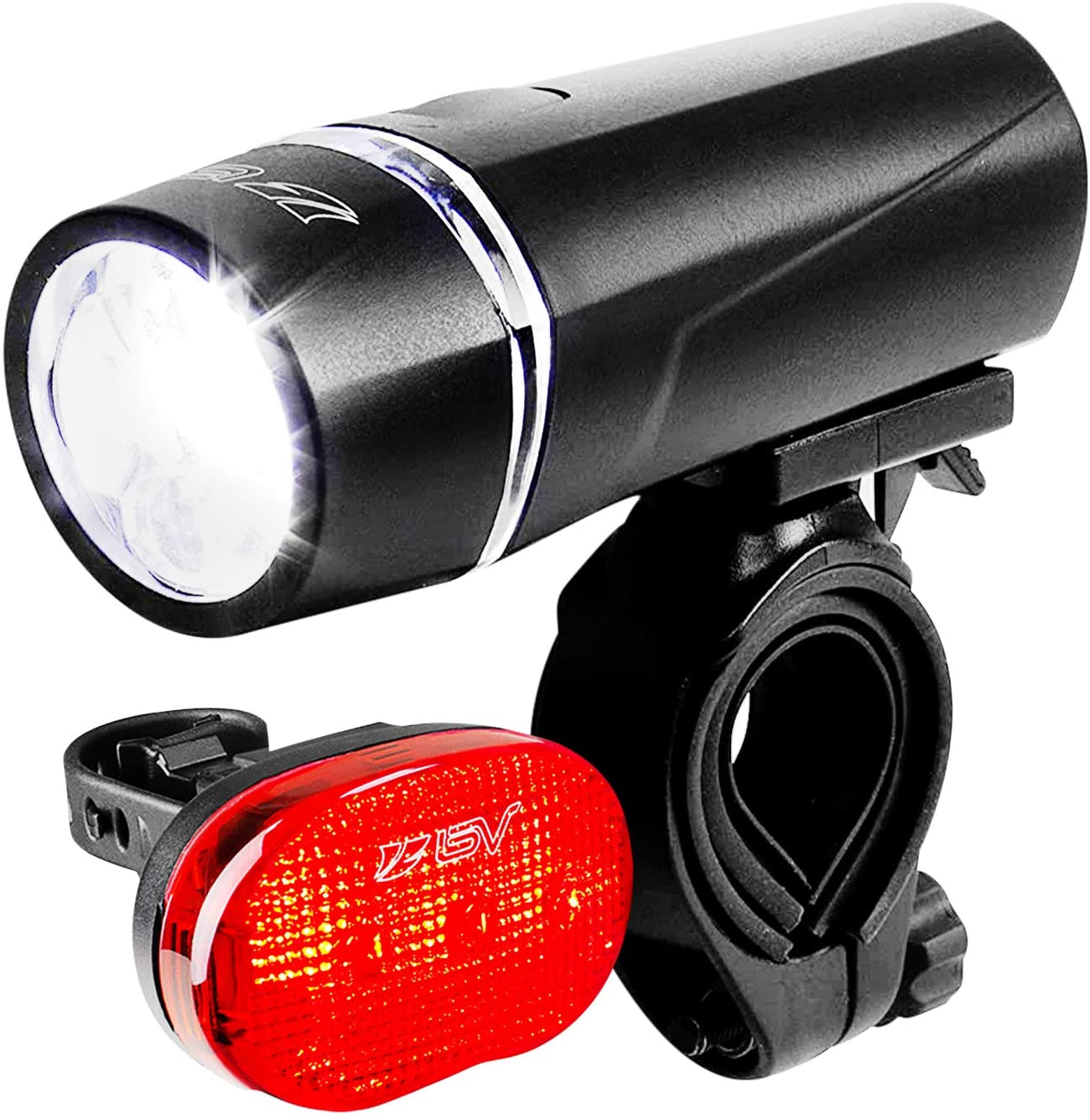 Front LED Headlight Electric Scooter Flashlight Lamp Accessories Plastic Light*1