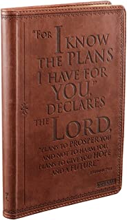 I know the Plans Classic LuxLeather Journal - Jeremiah 29:1