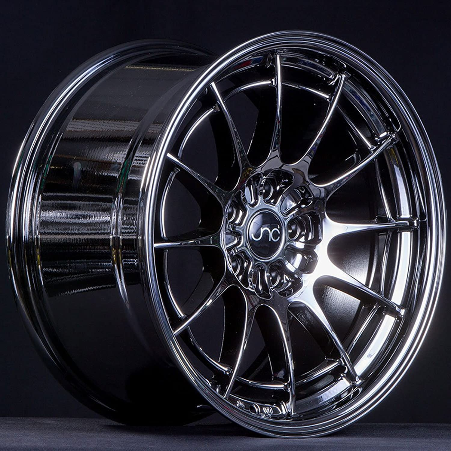 JNC Wheels  19  JNC033 Black Chrome Rim  5x120  19x11 inch